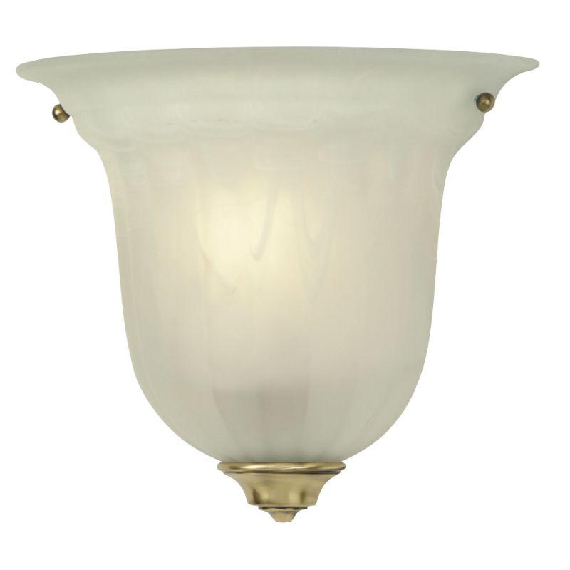 Dolan Designs 227-18 Old Brass Alabaster Stone / Glass Wall Washer Sconce - LightingDirect.com