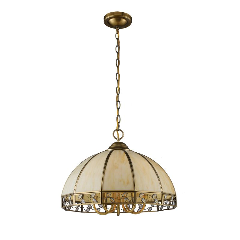 Elk Lighting Online: Elk Lighting 72051-5 Solid Brushed Brass Gerard Five-Light