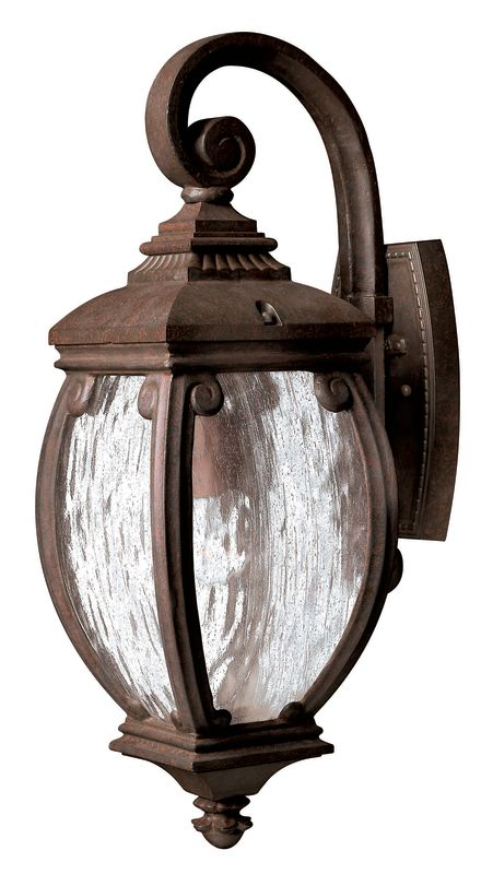 Wall Lantern Replacement Glass : Hinkley Lighting 1940FZ French Bronze 21