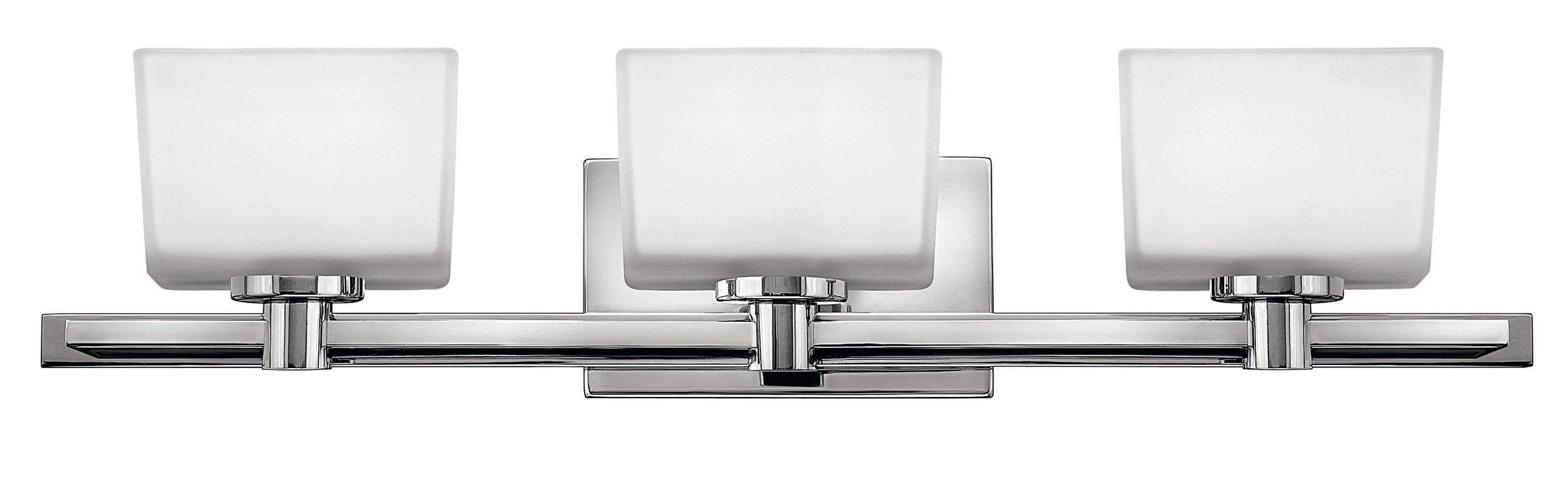 Hinkley Lighting 5023CM Chrome 3 Light 27 5 Width Bathroom Vanity Light