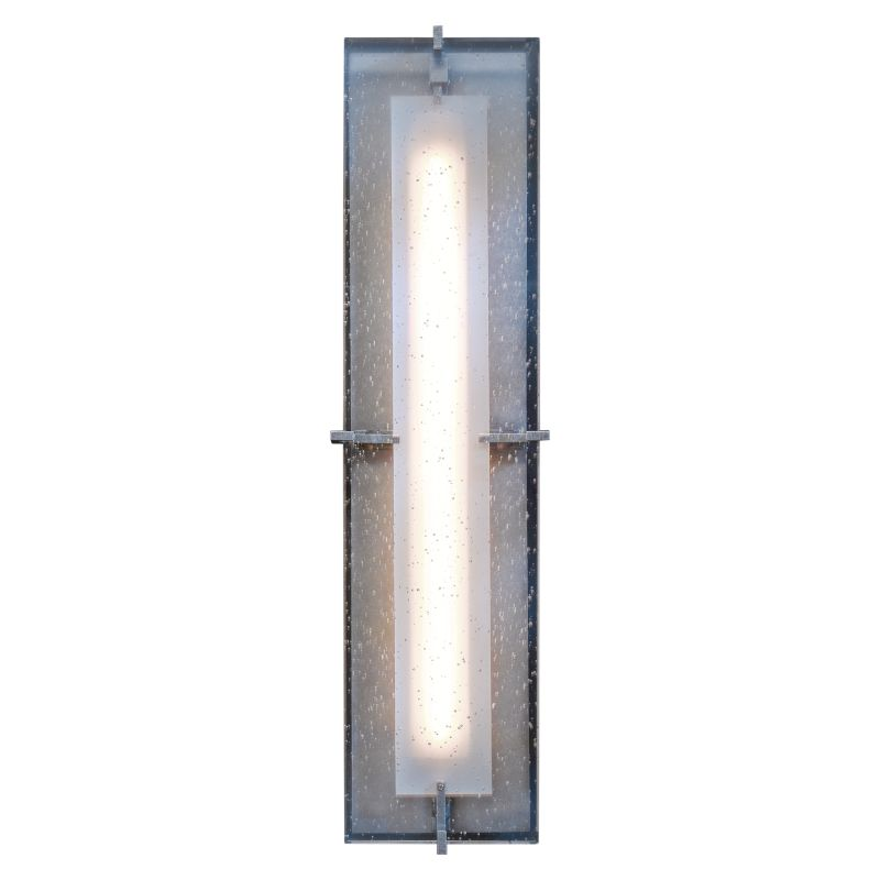 hubbardton forge 308015d 08 i397 burnished steel ethos 22 2 high led