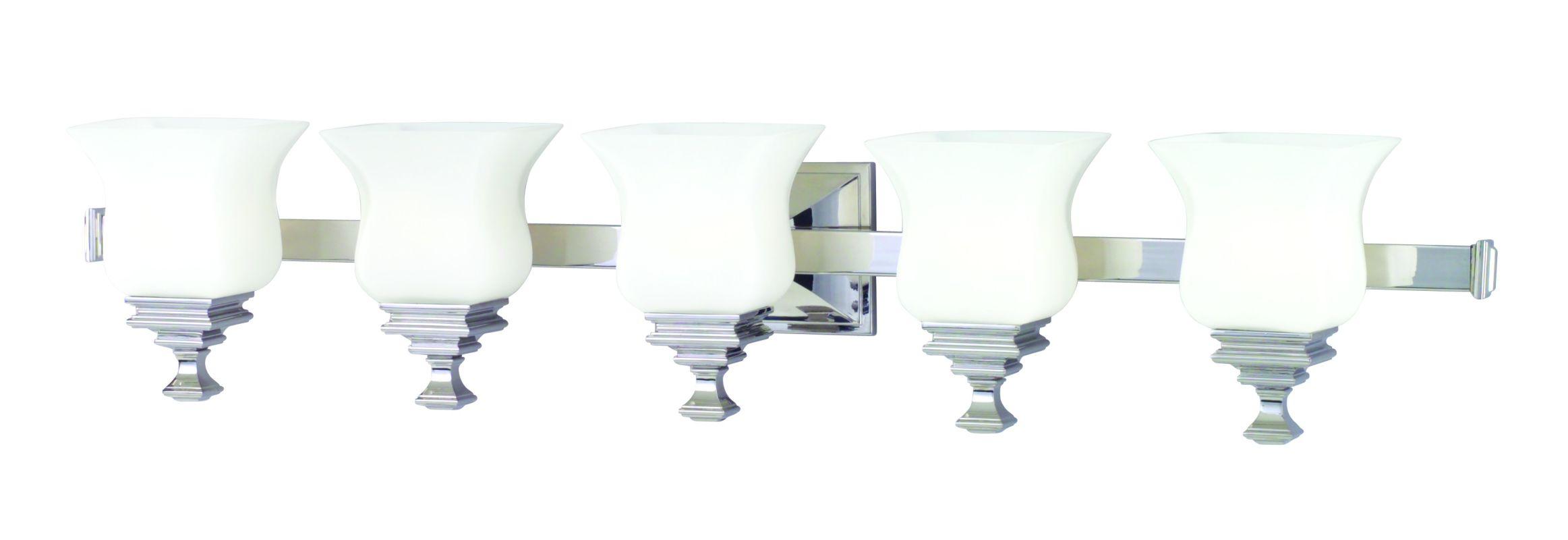 Vanity Lighting Facing Up Or Down : Hudson Valley Lighting 5505-SN Satin Nickel Wilton 5 Light Bathroom Vanity Fixture ...
