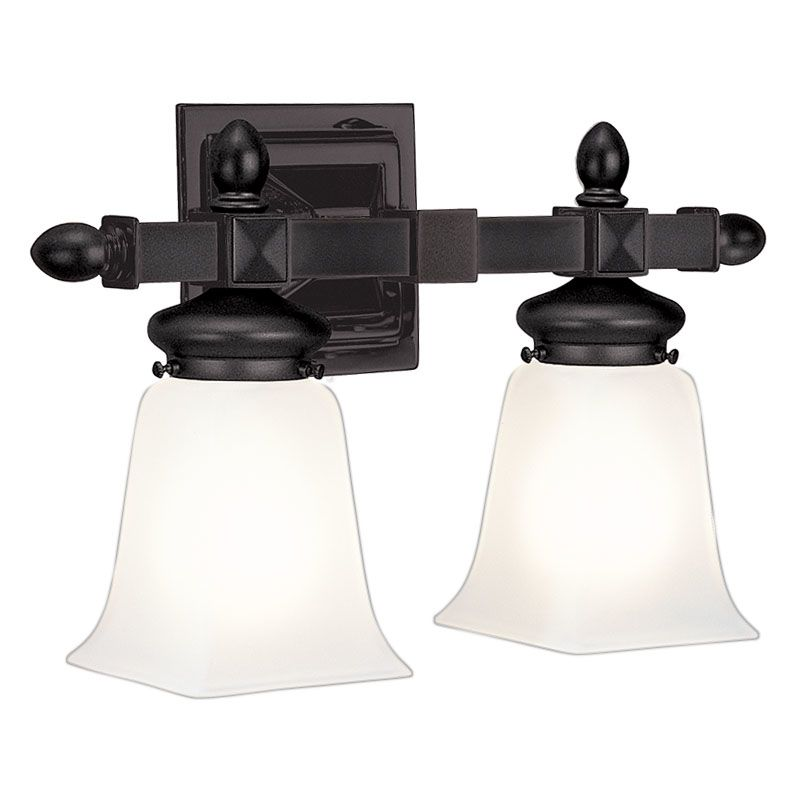 Hudson Valley Lighting Bulbs: Hudson Valley Lighting 2822-OB Old Bronze Two Light 15