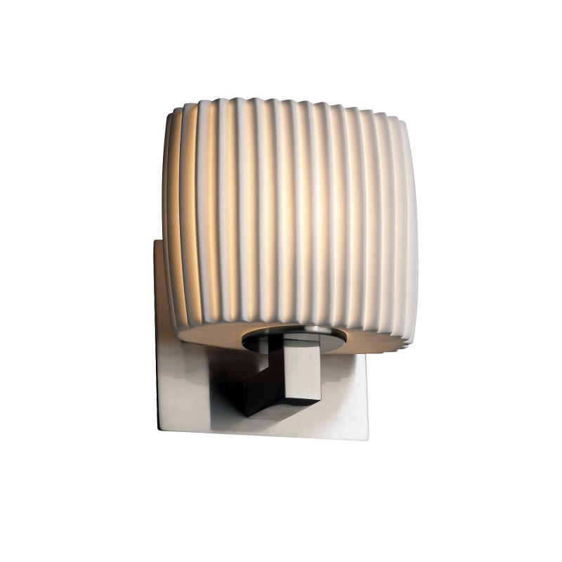 justice design group por 8931 30 plet nckl brushed nickel. Black Bedroom Furniture Sets. Home Design Ideas
