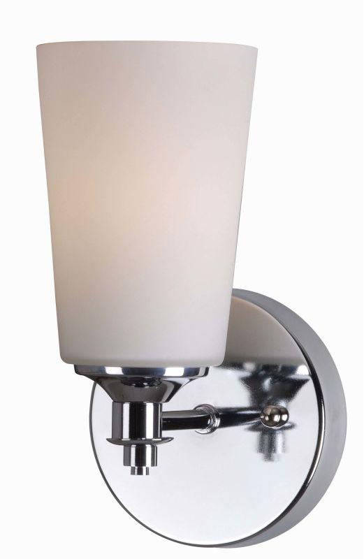 Kenroy Home 93280ch Chrome Emperor 1 Light Bathroom Sconce