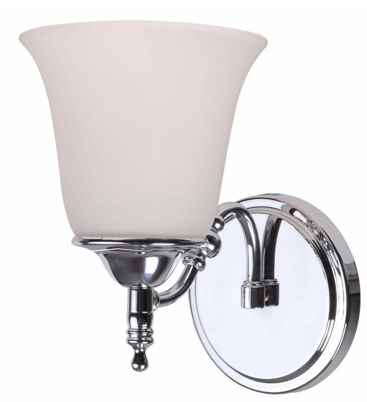 Kenroy Home 93511ch Chrome Rumson 1 Light Bathroom Sconce