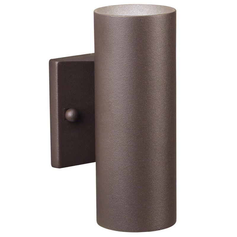 """Kichler 15079AZT Textured Architectural Bronze 6"""" Low"""