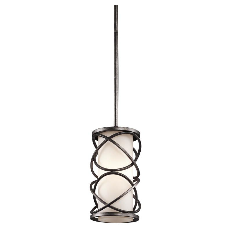 Kichler 42467WMZ Warm Bronze Krasi Single Bulb Indoor