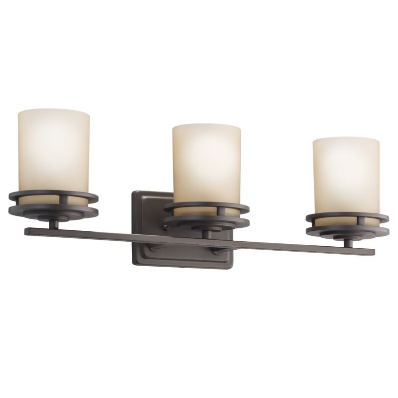 Kichler 5078OZ Olde Bronze Hendrik 3 Light 24