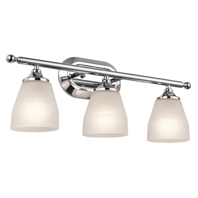 Kichler 5448CH Chrome Ansonia 3 Light 23