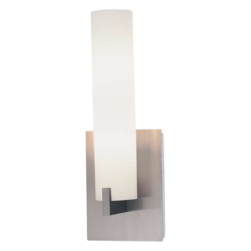 Bathroom Wall Sconce Mounting Height : Kovacs P5040-084 Brushed Nickel 2 Light 13.25