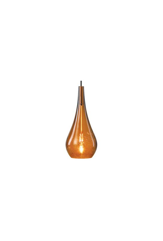 Lbl lighting hs467am amber single light tear shaped mini for S shaped track lighting