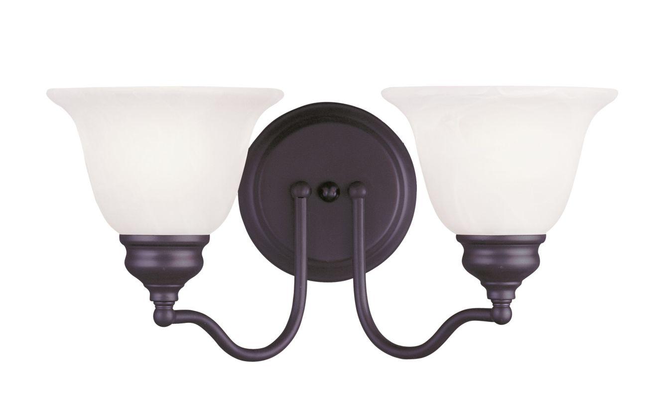 Livex Lighting 1352-07 Bronze Essex Bathroom Vanity Bar