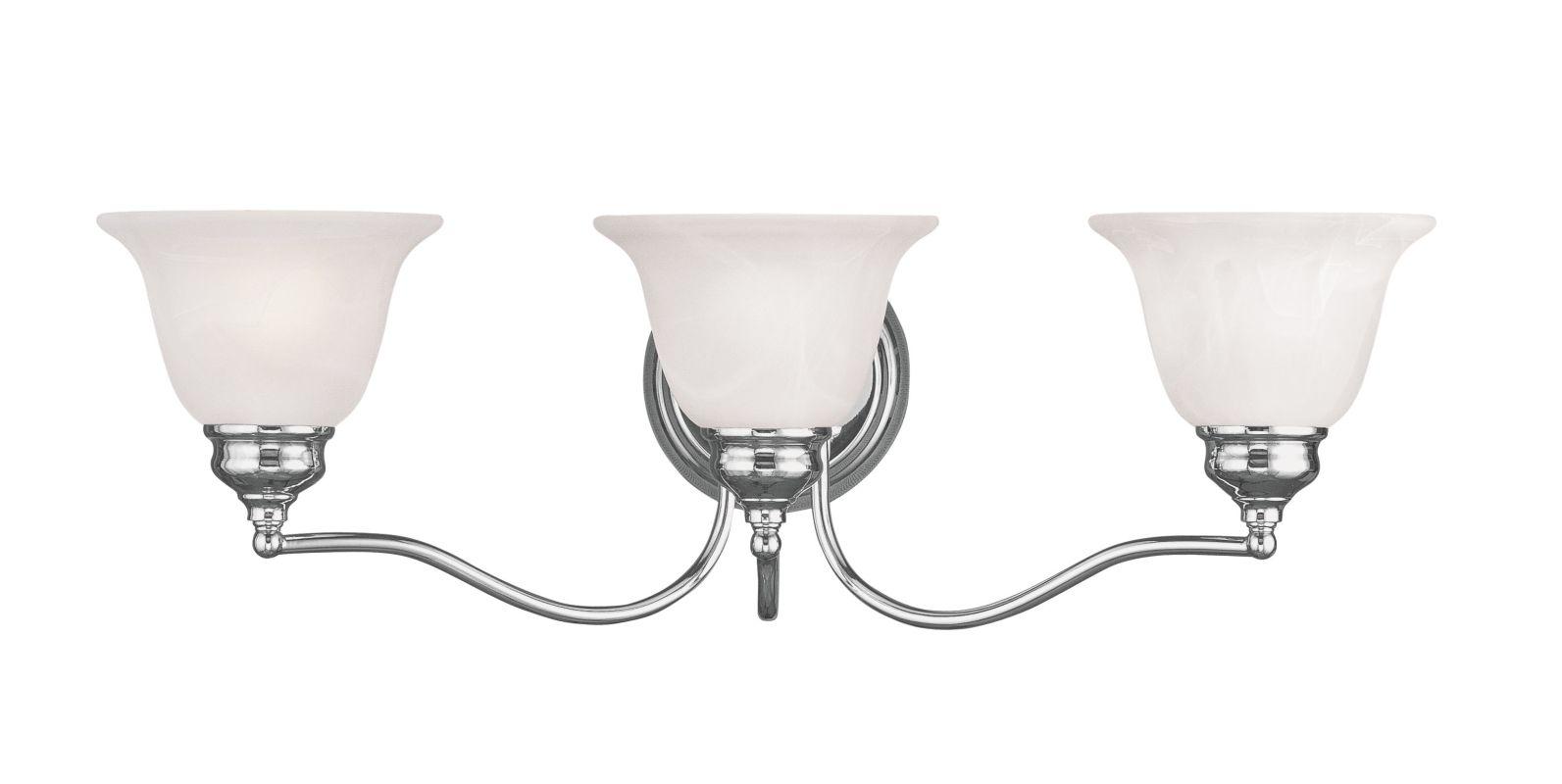 Livex Lighting 1353-05 Chrome Essex Bathroom Vanity Bar