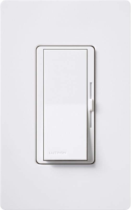 lutron dvf 103p wh white diva 8 ampere 120 volt single. Black Bedroom Furniture Sets. Home Design Ideas