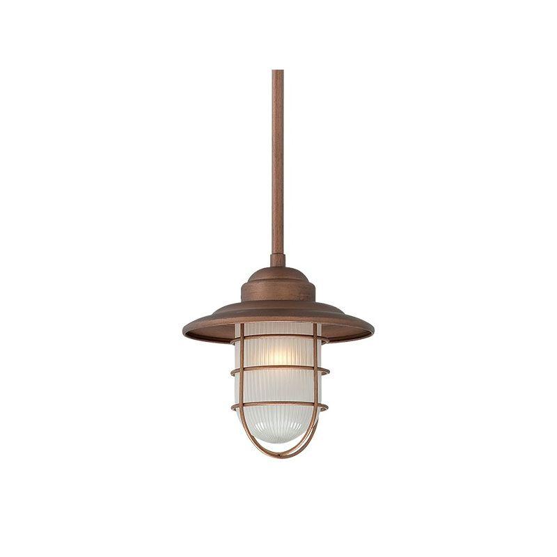 millennium lighting 5391 cp copper neo industrial 1 light mini pendant. Black Bedroom Furniture Sets. Home Design Ideas