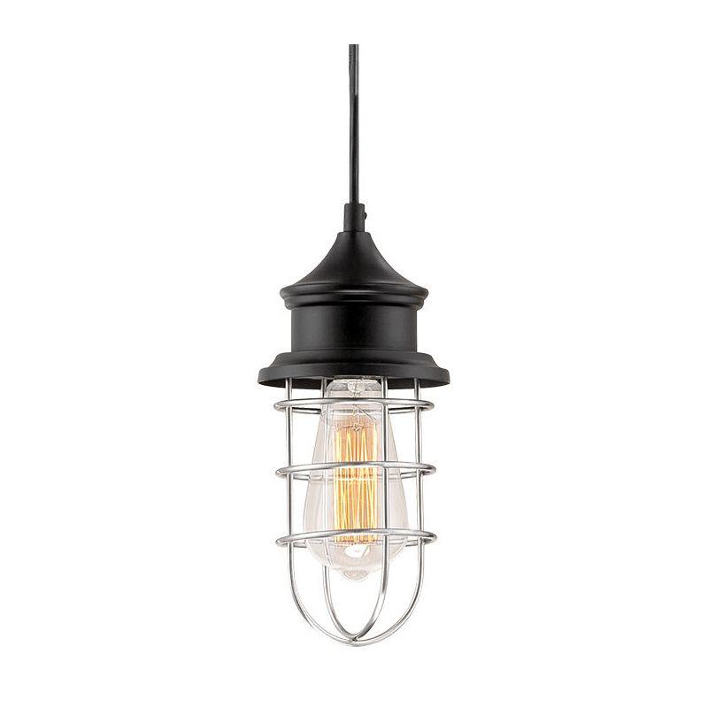 Millennium Lighting 189-BK/BN Black Neo-Industrial 1 Light