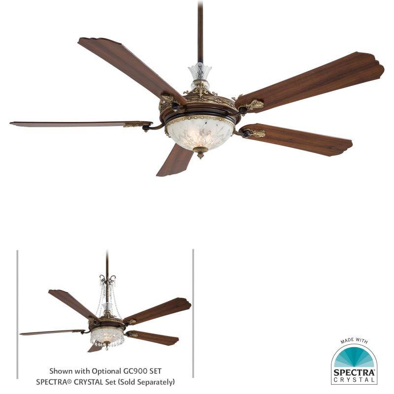 Minkaaire F900 Bcw Belcaro Walnut 5 Blade 68 Quot Ceiling Fan