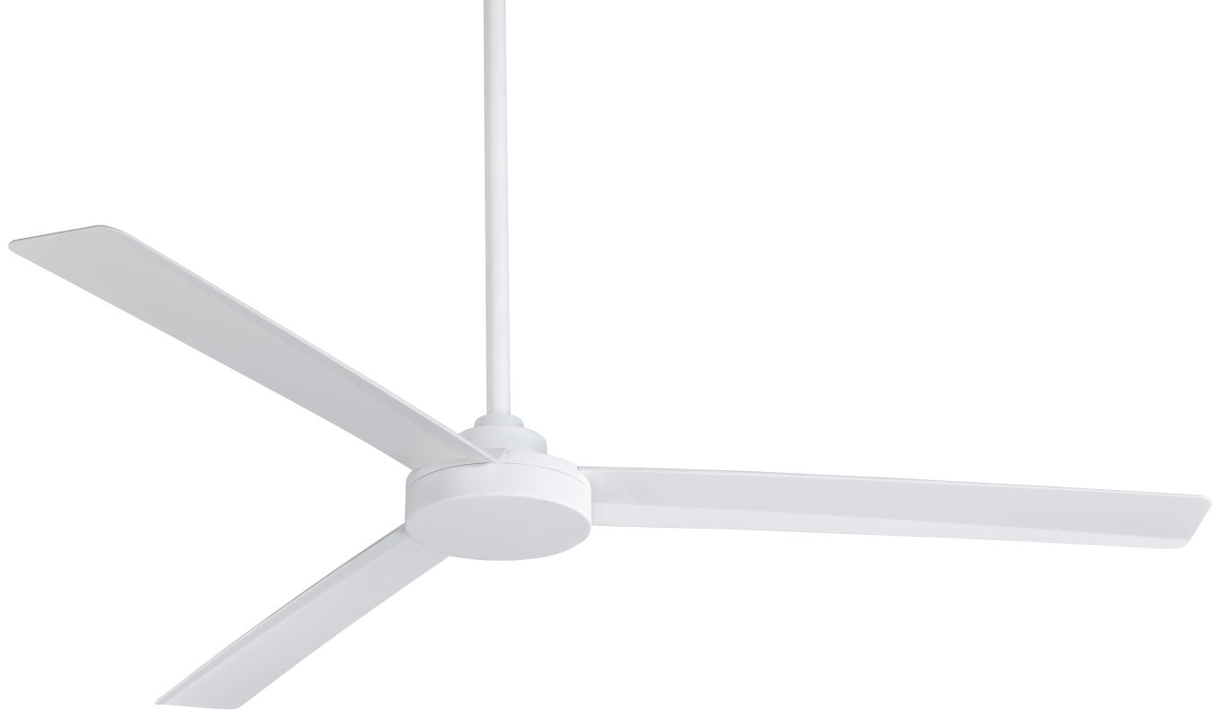 Minka Aire F624 Whf Roto Xl Flat White 62 Quot Outdoor Ceiling