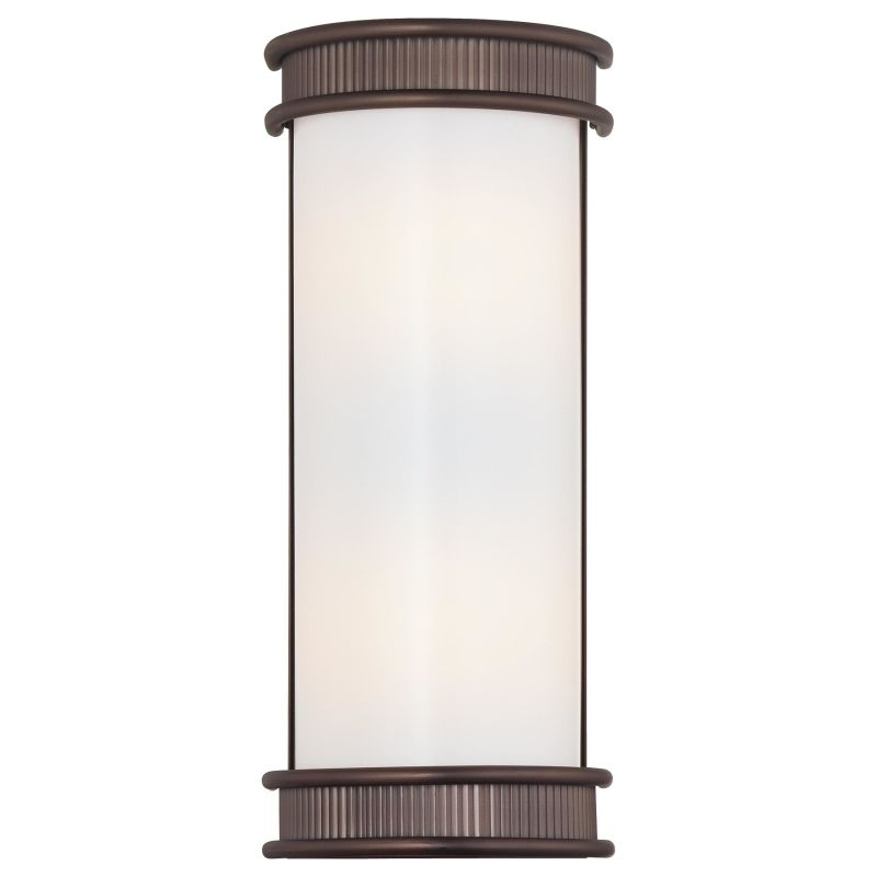Wall Sconce Mounting Height Ada : Minka Lavery 4282-647 Copper Bronze Patina 2 Light ADA Flush Mount Wall Sconce from the Federal ...