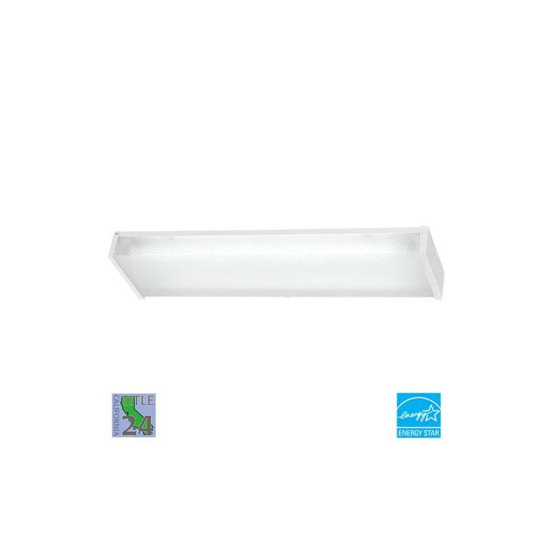 minka lavery 1010 44 pl white 2 light energy star ceiling. Black Bedroom Furniture Sets. Home Design Ideas