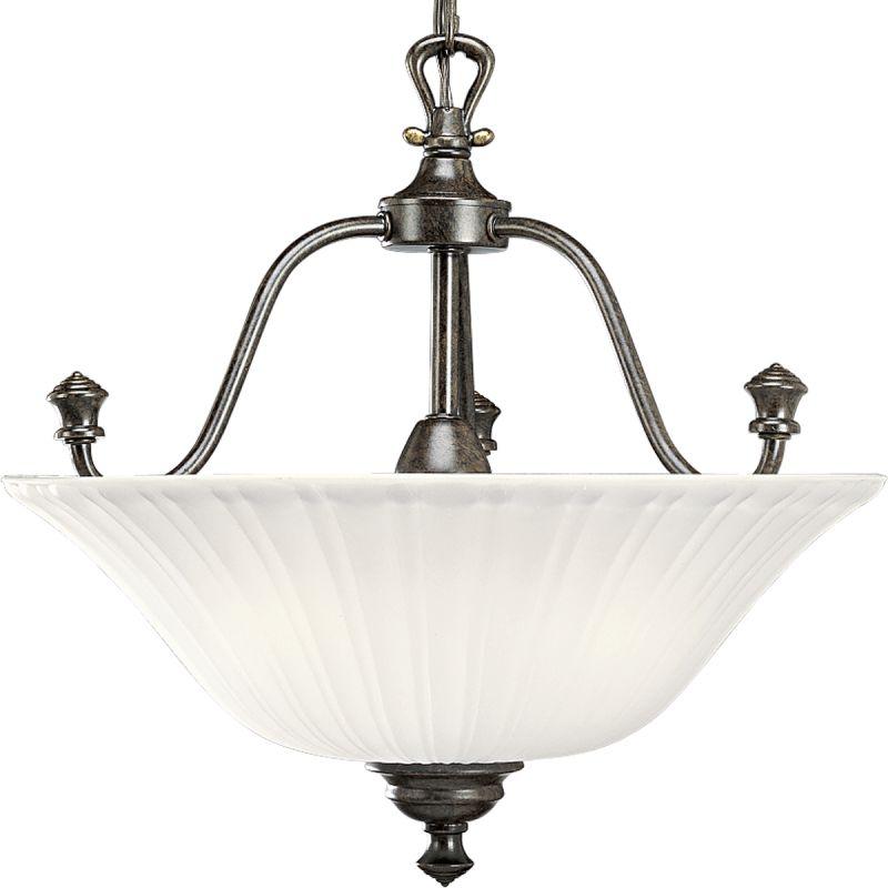Flush ceiling light replacement glass : Progress lighting p forged bronze renovations