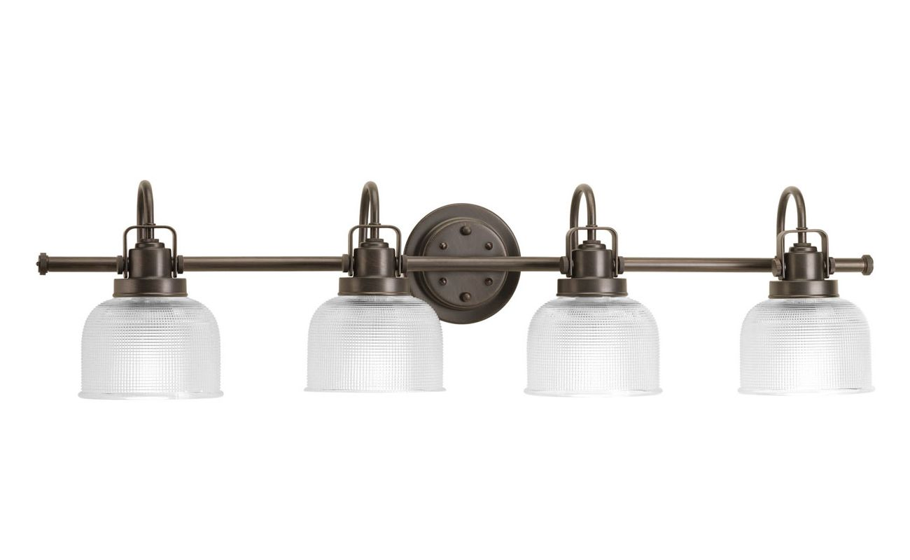 Progress Lighting Archie Collection 26 25 In 3 Light: Progress Lighting P2997-74 Venetian Bronze Archie 4 Light