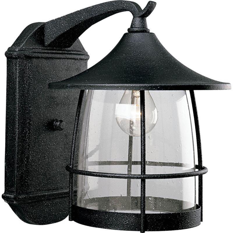 Outdoor Wall Light Replacement Glass: Progress Lighting P5764-71 Gilded Iron Prairie 1 Light