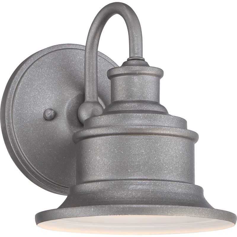 "Murray Feiss Post Base: Quoizel SFD8407IB Imperial Bronze Seaford 1 Light 8"" Tall"