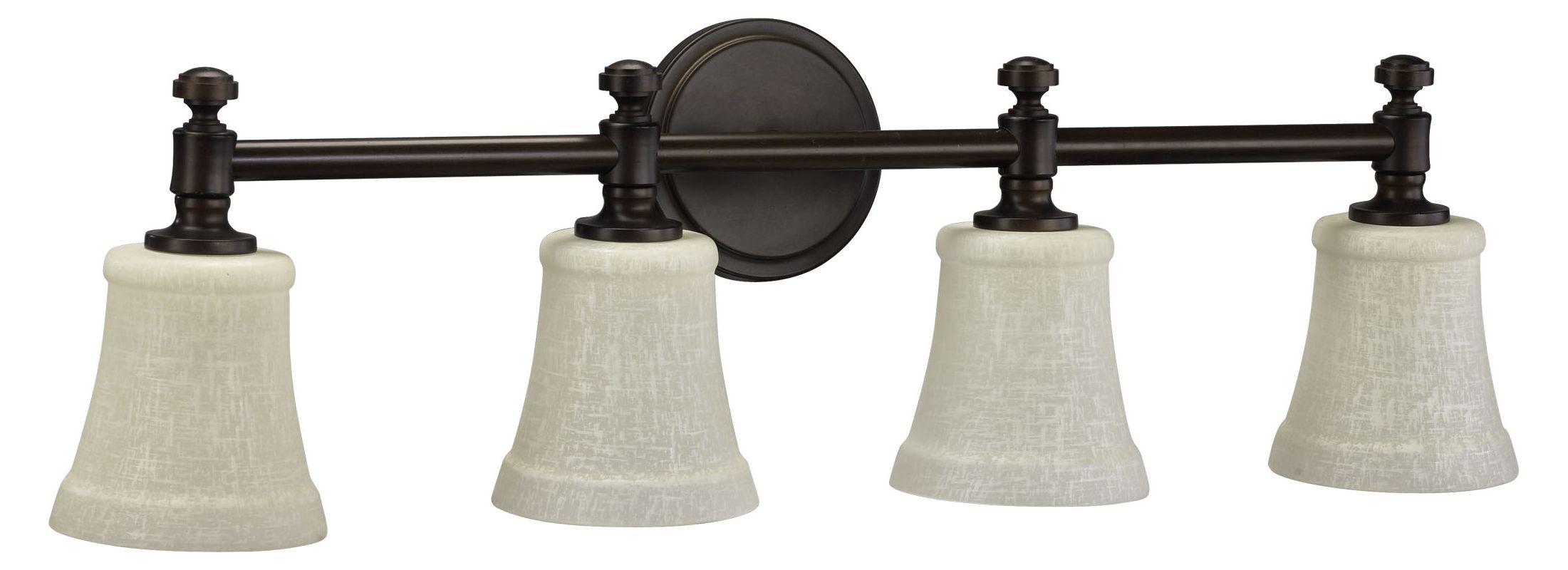 Quorum International 5122-4-86 Oiled Bronze Four Light 30