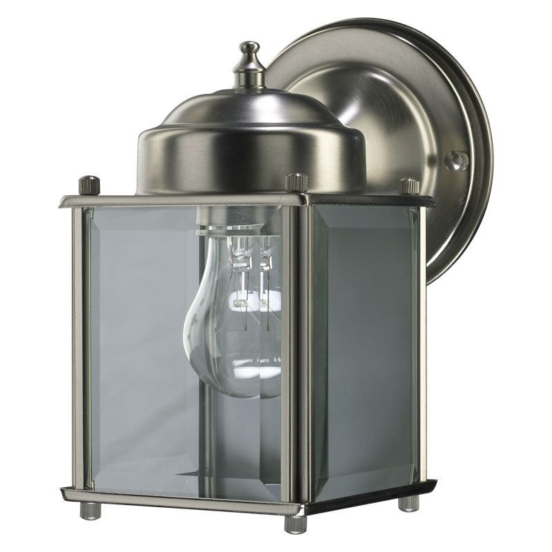 Quorum International 700 65 Satin Nickel Lantern 1 Light