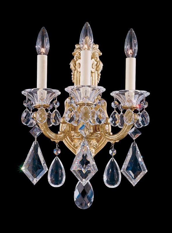 Schonbek 5071 22 Heirloom Gold 7 1 2 Quot Wide 3 Light Candle