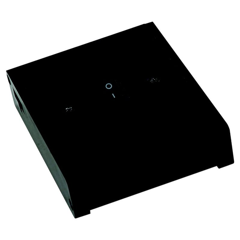 sea gull lighting 90846 12 black self contained