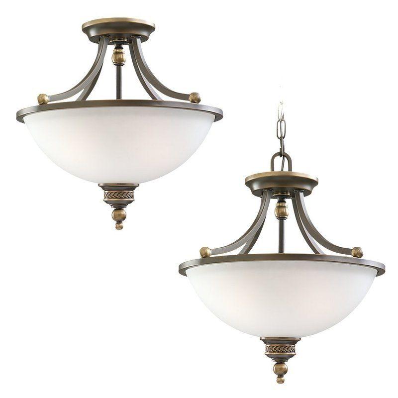 Sea Gull Lighting 77350 708 Estate Bronze Laurel Leaf 2