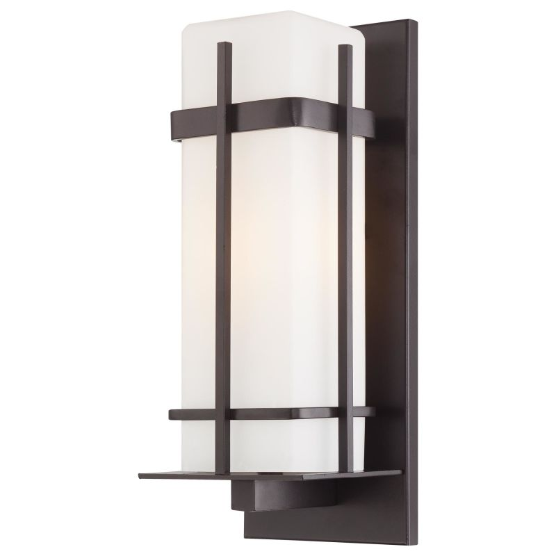 Wall Light Ideal Height : The Great Outdoors 72353-615B-PL Dorian Bronze 1 Light 16.25