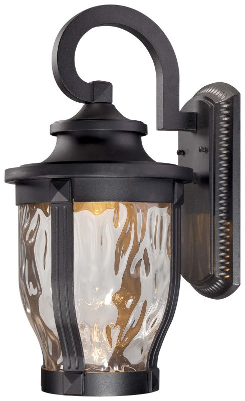 The great outdoors 8763 66 l black 1 light 20 height led for Height of sconces