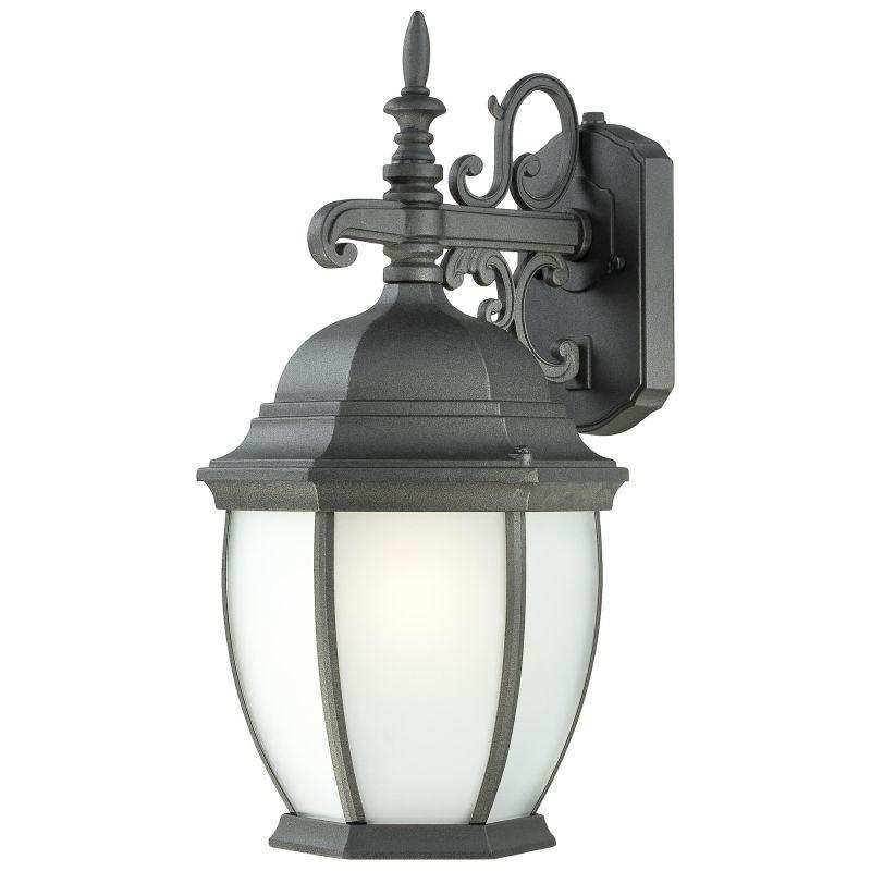 thomas lighting pl92297 black 1 light fluorescent outdoor. Black Bedroom Furniture Sets. Home Design Ideas