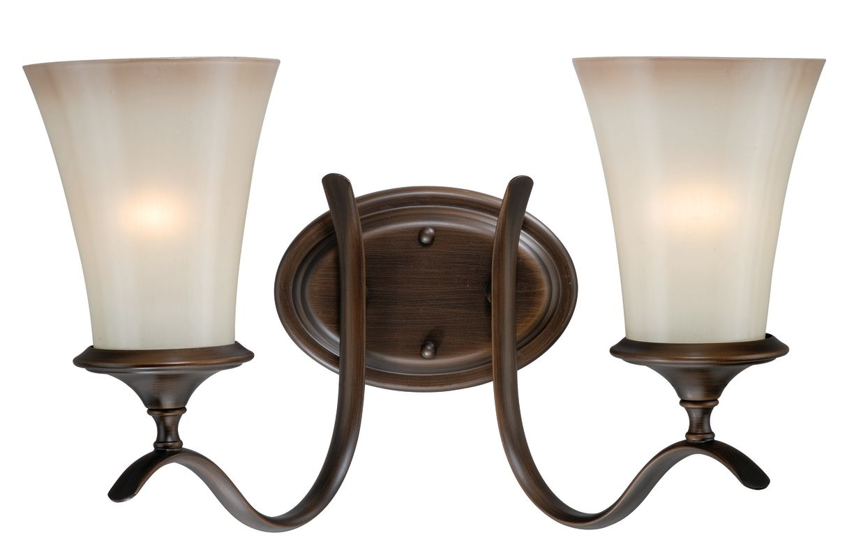 Can Vanity Lights Be Installed Upside Down : Vaxcel Lighting W0039 Venetian Bronze Sonora 2 Light Bathroom Vanity Light - 19 Inches Wide ...