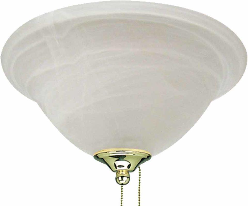 volume lighting v0902 2 polished brass ceiling fan light. Black Bedroom Furniture Sets. Home Design Ideas