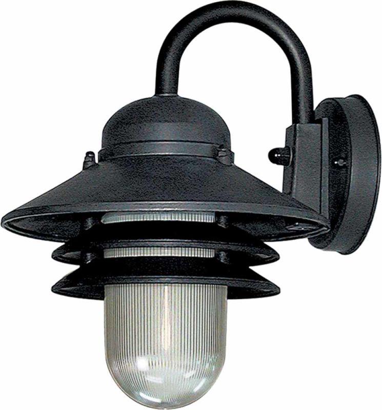 Volume Lighting V9725-5 Black Nautical Outdoor 1 Light 10