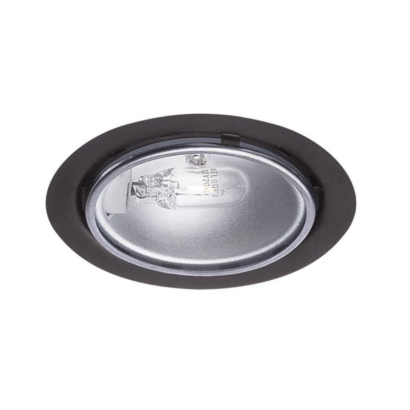 WAC Lighting HR-86-BK Black 2.63u0026quot; Wide 1 Light Low Voltage Under Cabinet Puck Light ...