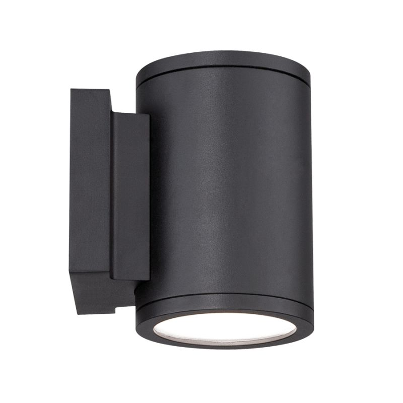 WAC Lighting WS W2604 BK Black Tube LED Outdoor Wall