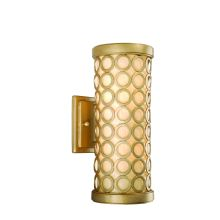 2 Light Outdoor Wall Sconce from the Bangle Collection