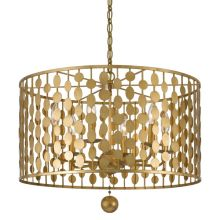 Layla 6 Light Single Tier Chandelier