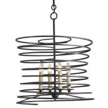 Nebula 4 Light 1 Tier Chandelier