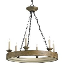 Beachhouse 6 Light Single Tier Chandelier