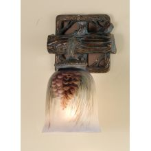 Down Lighting Wall Sconce from the Pinecones Collection