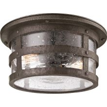 Barbosa 2 Light CFL Flush Mount Outdoor Ceiling Fixture