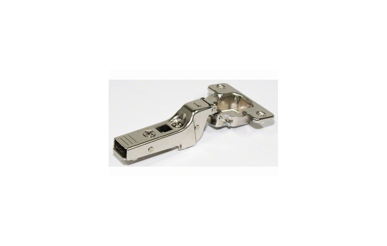 Self Closing Kitchen Cabinet Hinges Blum 70t9650 Tl Nickel Clip Top Partial Overlay Screw On