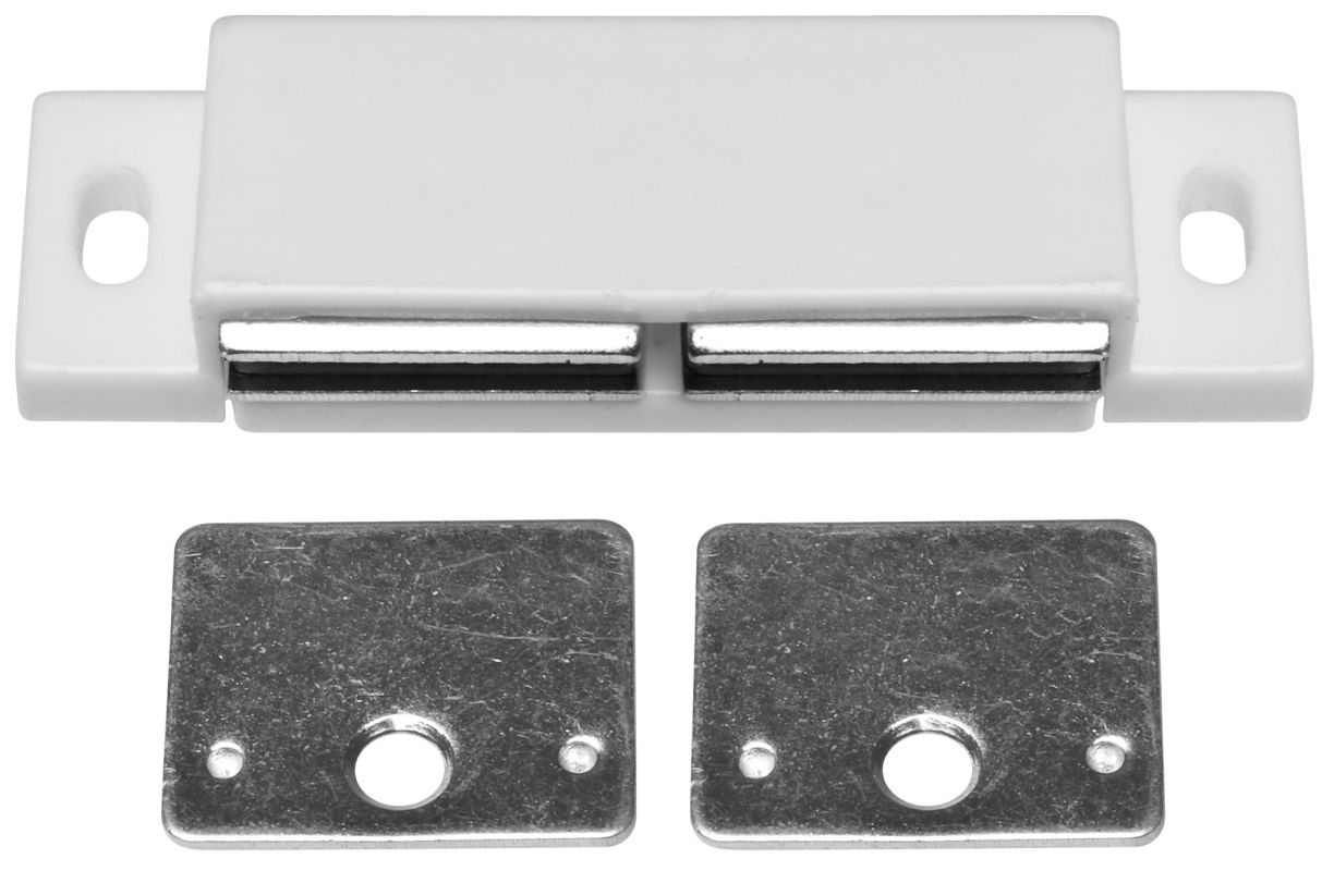 stanley home designs bb8174 n a 3 inch double magnetic cabinet catch